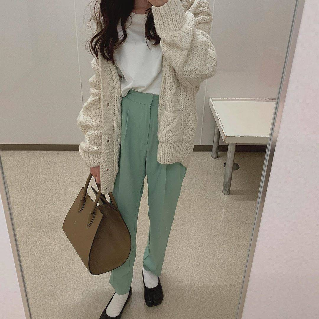 最高気温17度・最低気温2度 _ukiko___15の服装