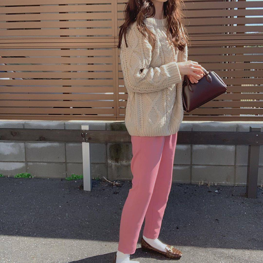 最高気温18度・最低気温7度 _ukiko___15の服装
