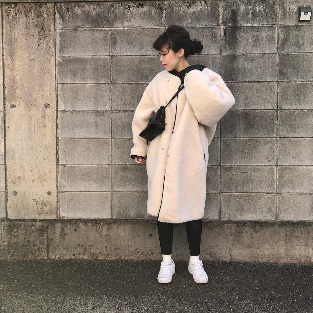 最高気温9度・最低気温0度 a.__yaの服装