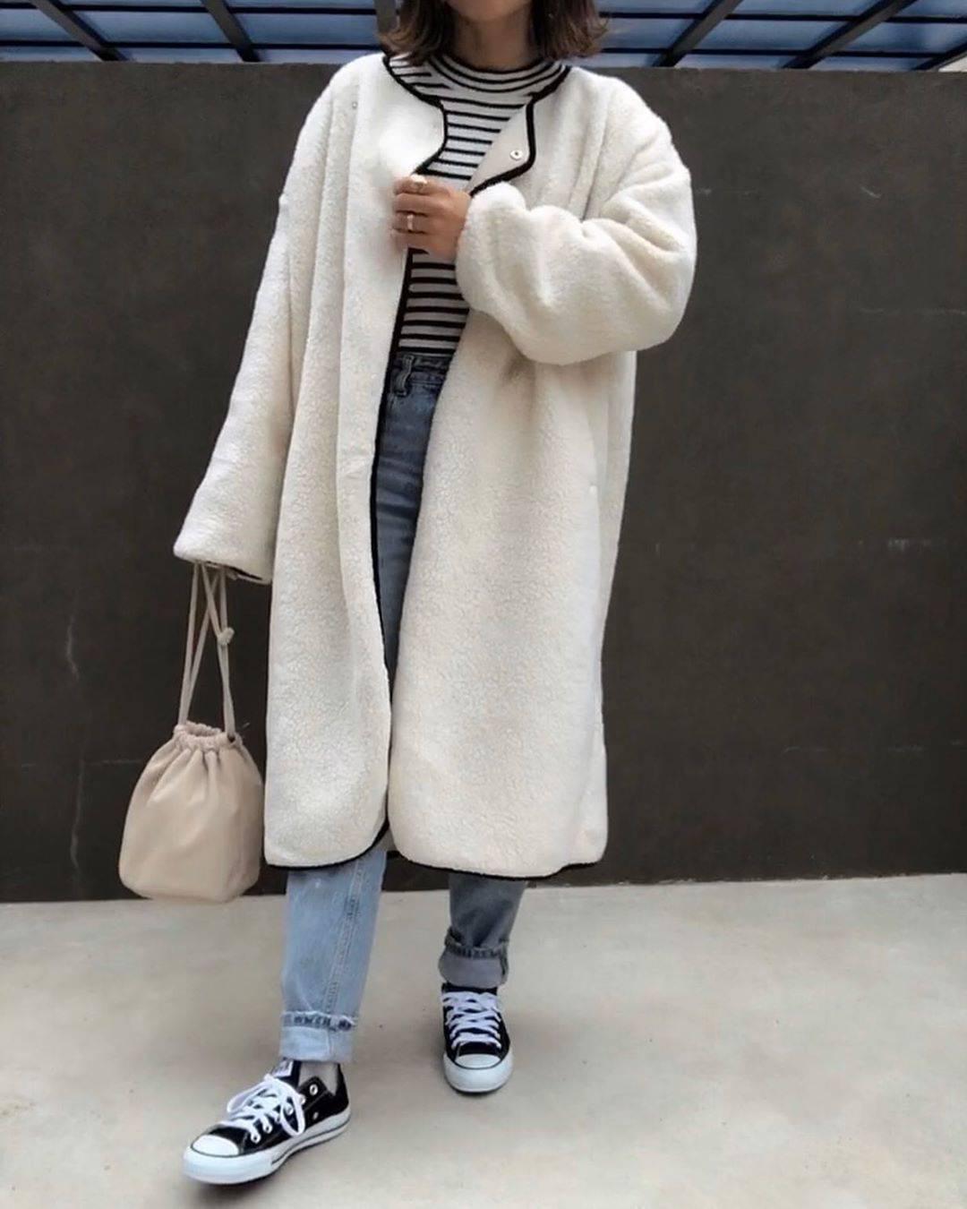 最高気温11度・最低気温3度 a8d4c4の服装