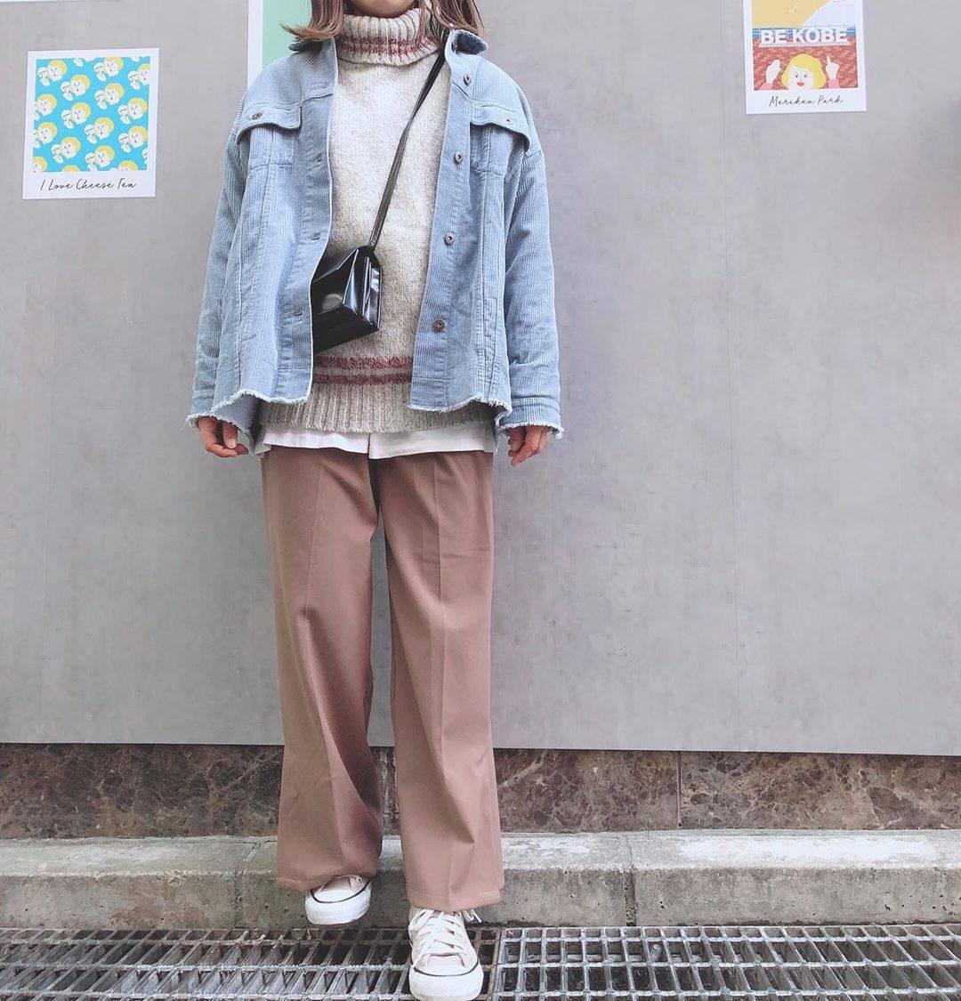 最高気温14度・最低気温4度 a8d4c4の服装