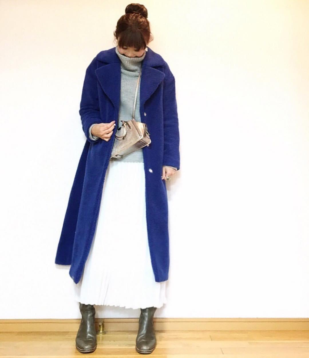 最高気温10度・最低気温3度 acmee.chiyoの服装