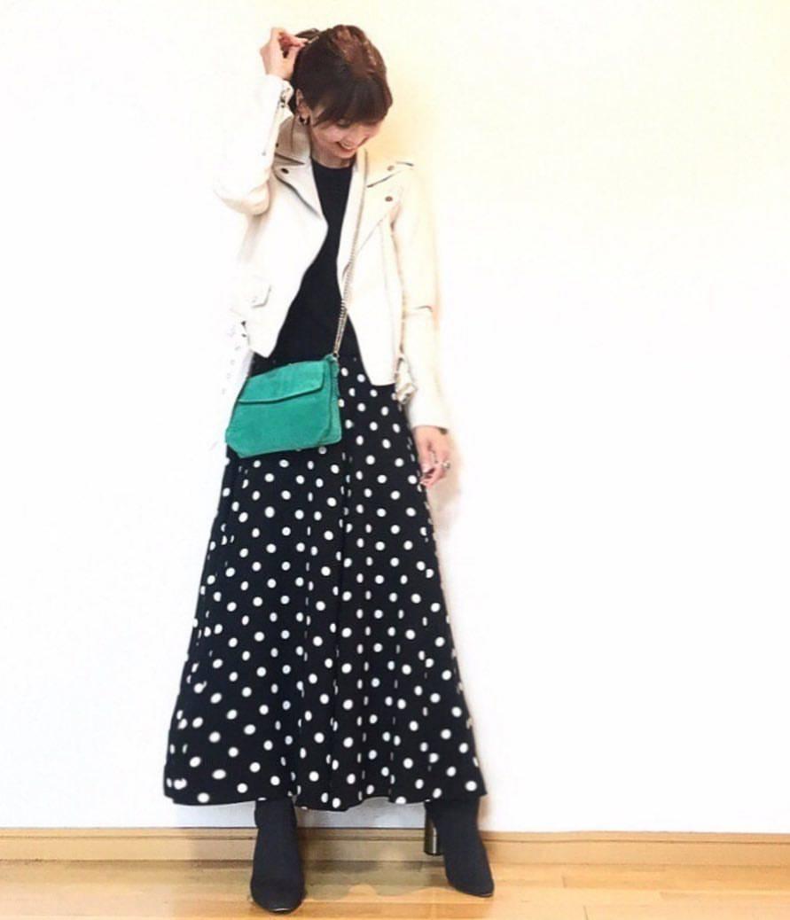 最高気温7度・最低気温5度 acmee.chiyoの服装