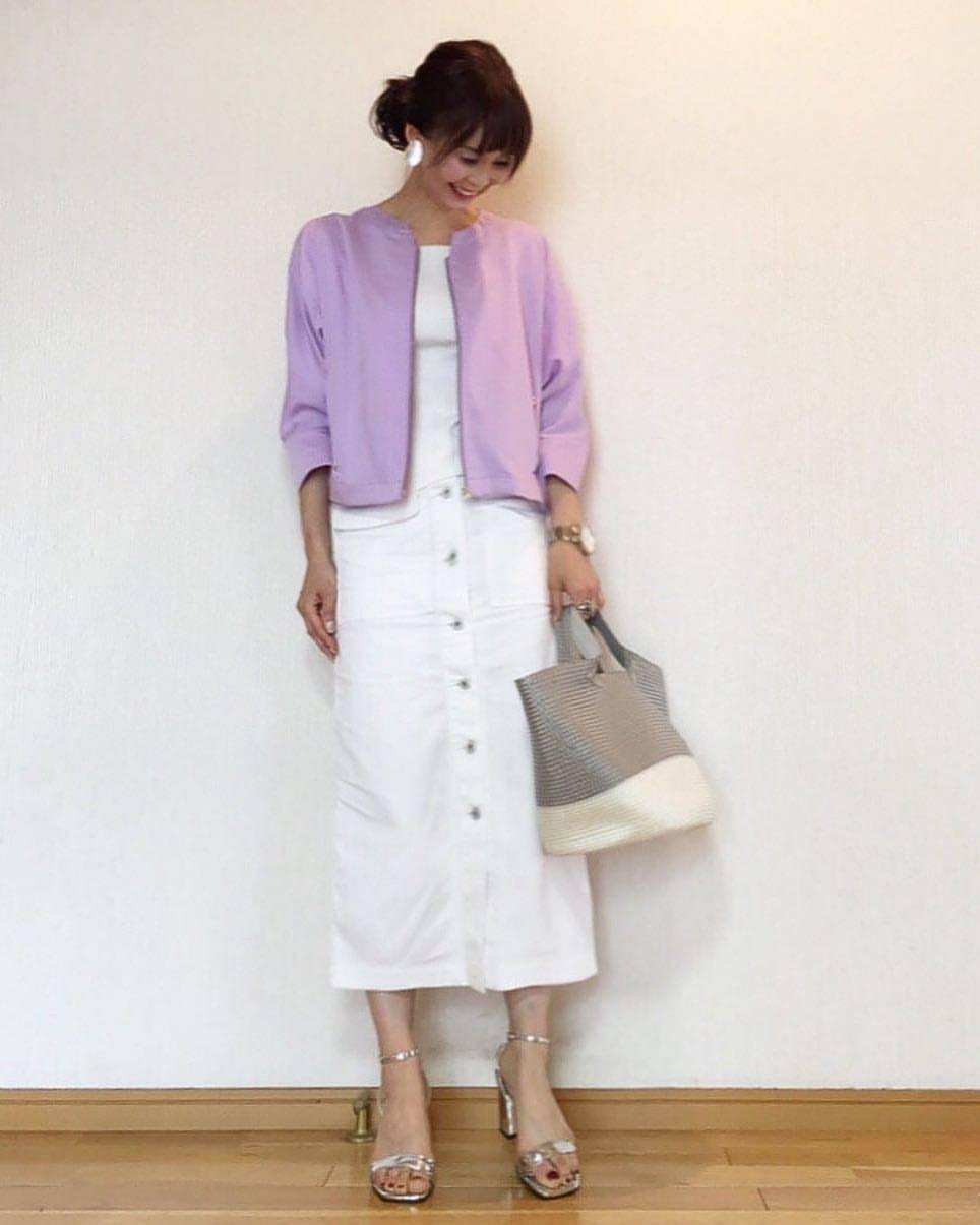 最高気温20度・最低気温9度 acmee.chiyoの服装