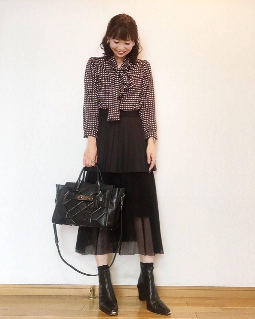 最高気温24度・最低気温18度 acmee.chiyoの服装