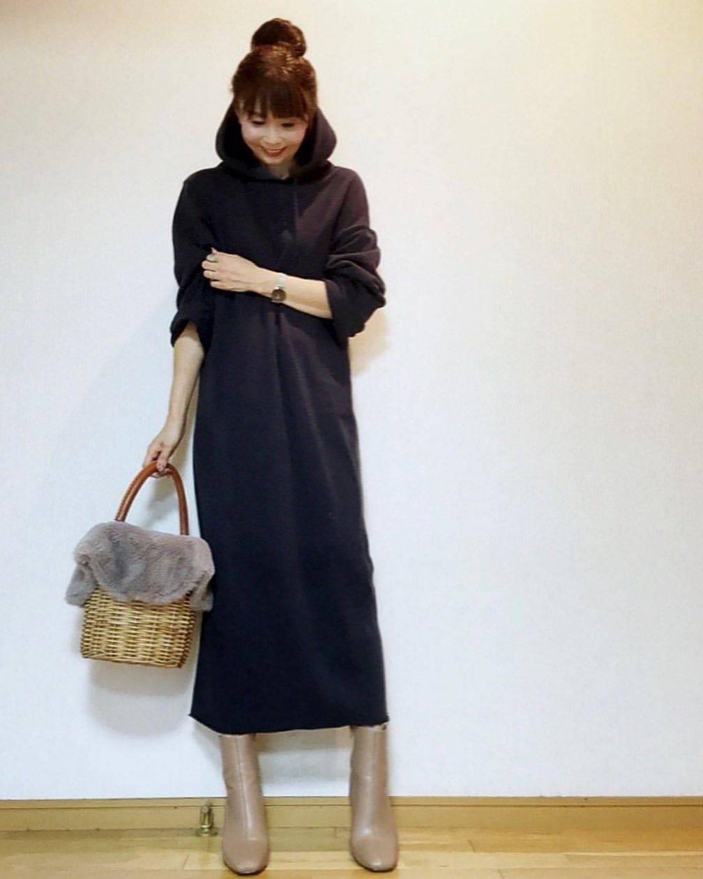 最高気温28度・最低気温19度 acmee.chiyoの服装