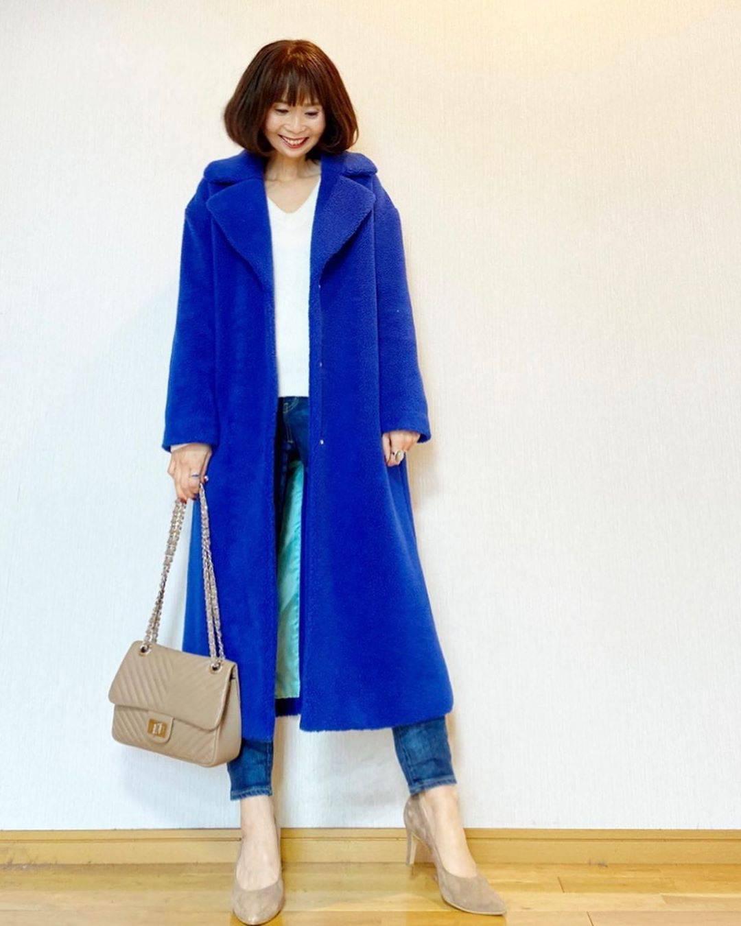 最高気温15度・最低気温6度 acmee.chiyoの服装