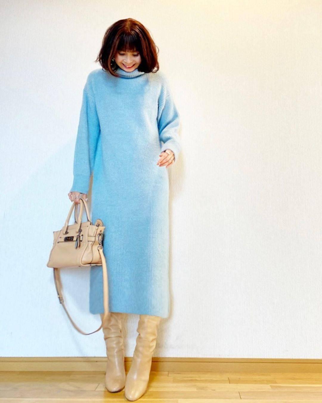 最高気温12度・最低気温5度 acmee.chiyoの服装