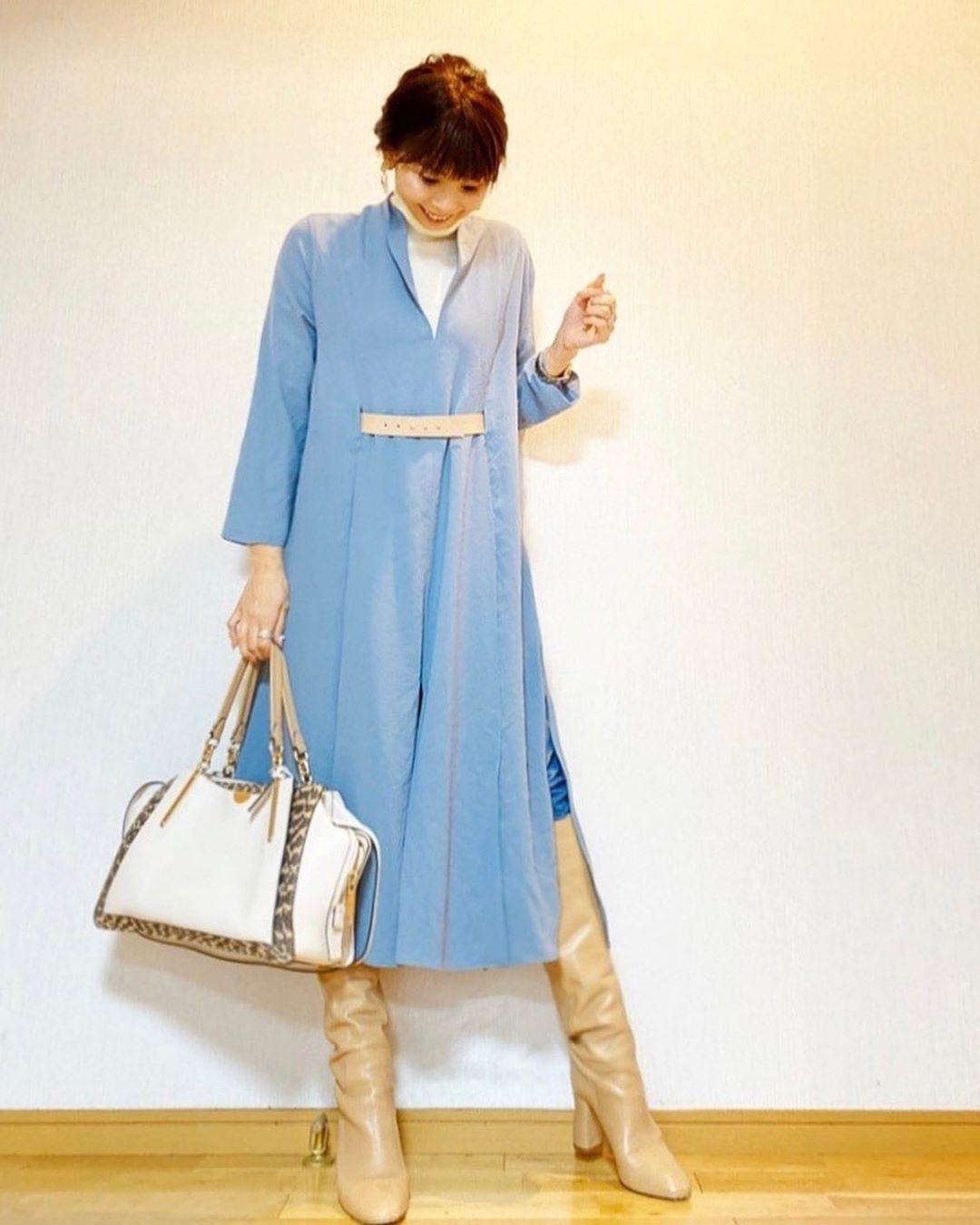 最高気温25度・最低気温10度 acmee.chiyoの服装