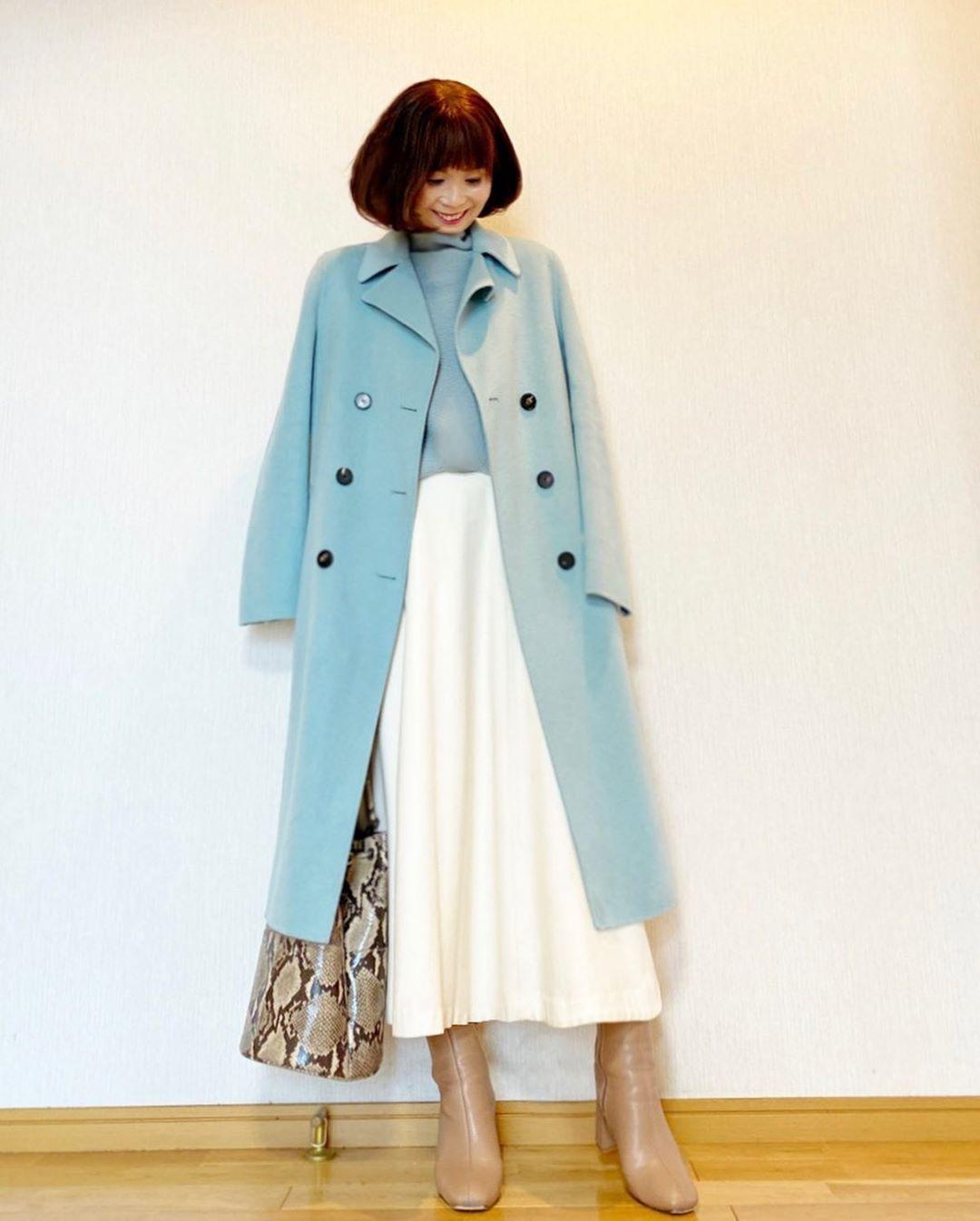 最高気温15度・最低気温5度 acmee.chiyoの服装