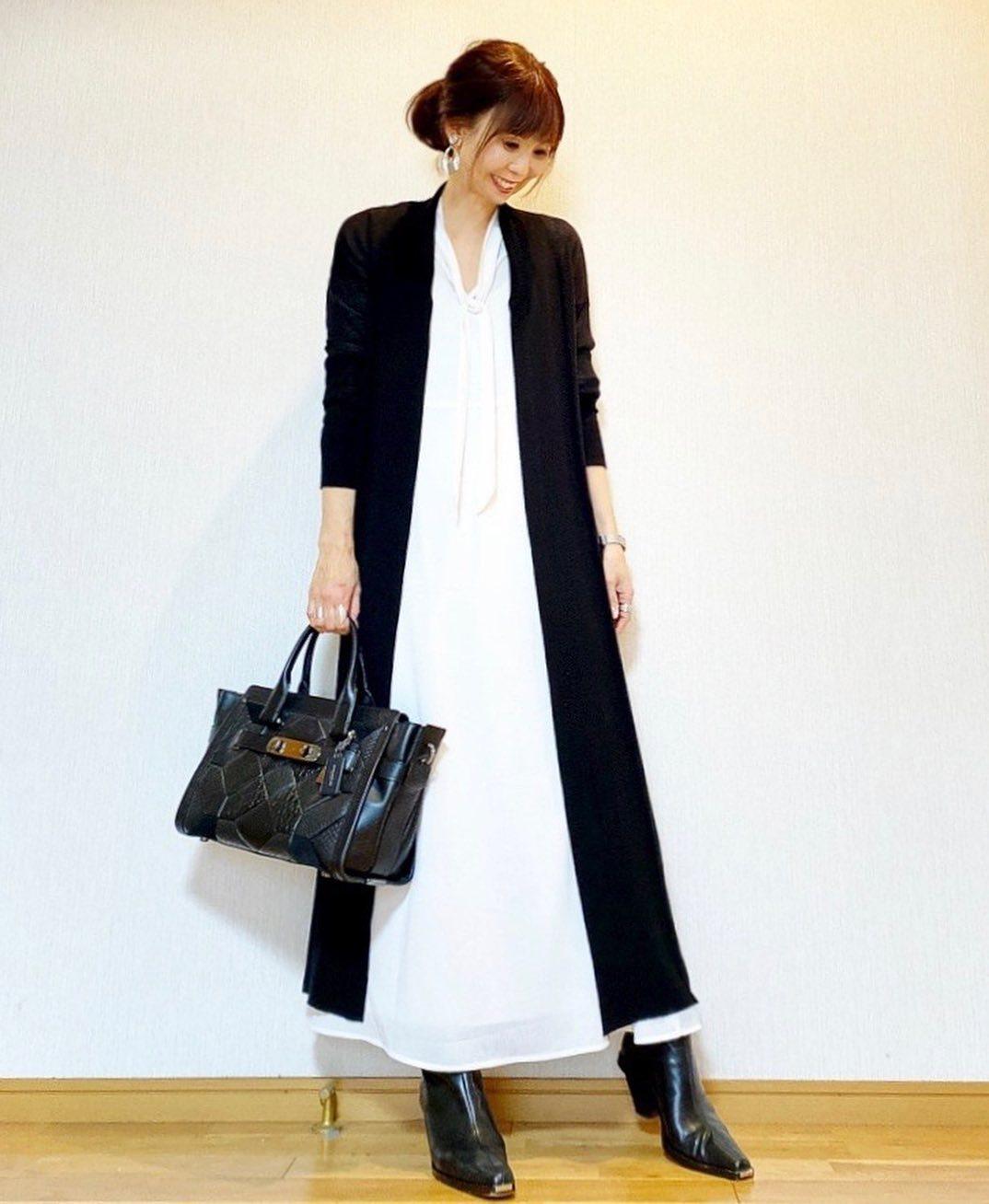 最高気温20度・最低気温10度 acmee.chiyoの服装