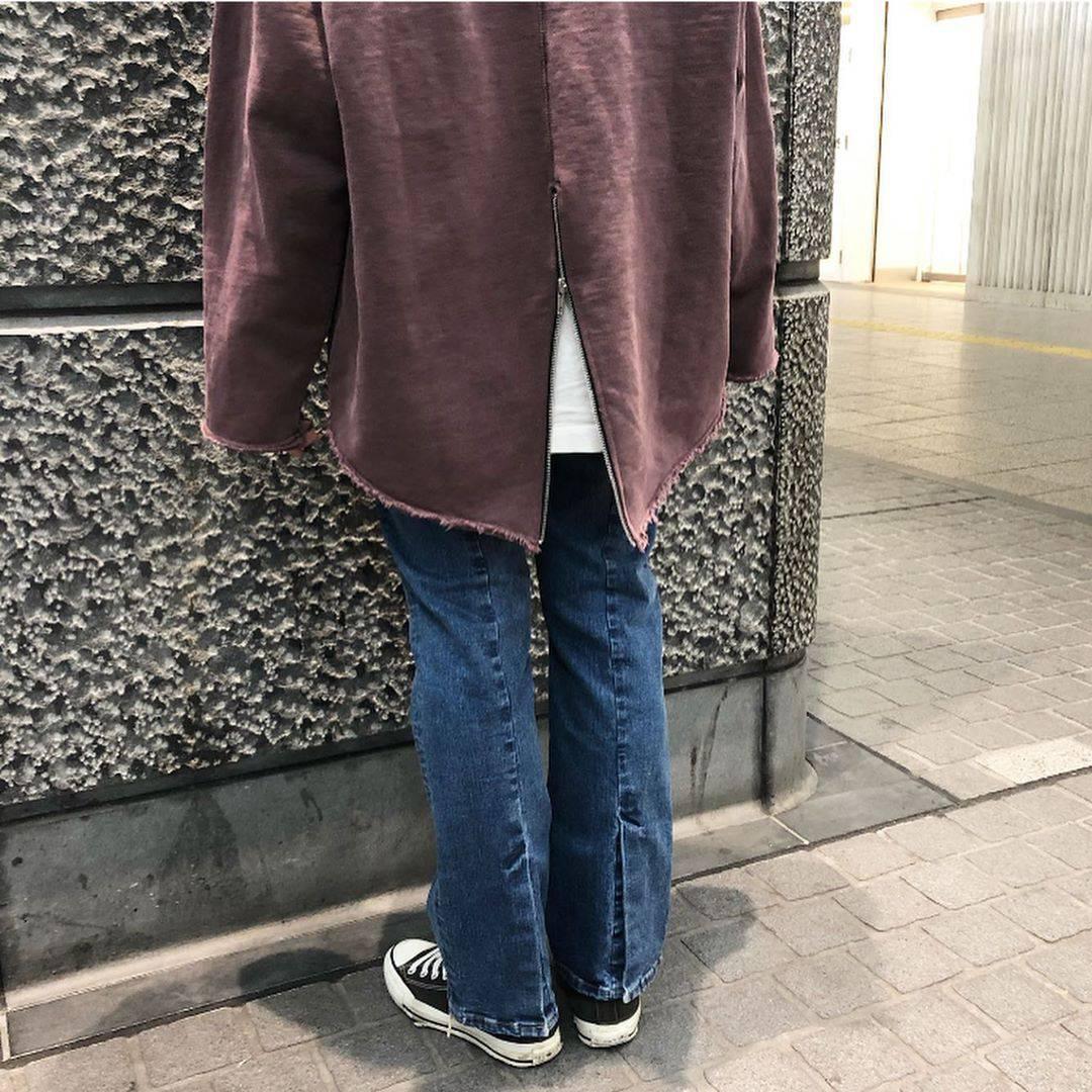 最高気温12度・最低気温5度 aikachaaanの服装