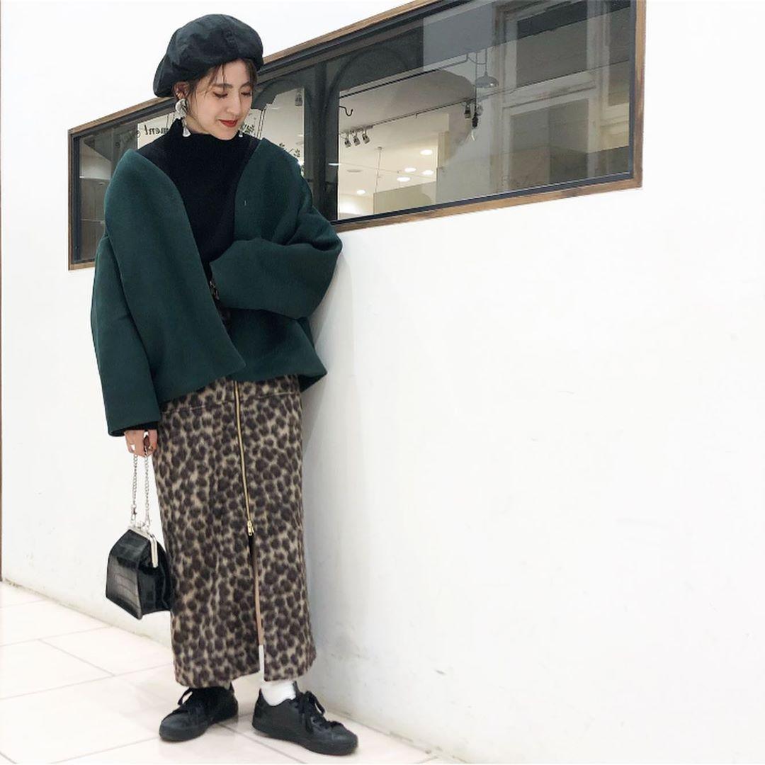 最高気温18度・最低気温7度 aikachaaanの服装