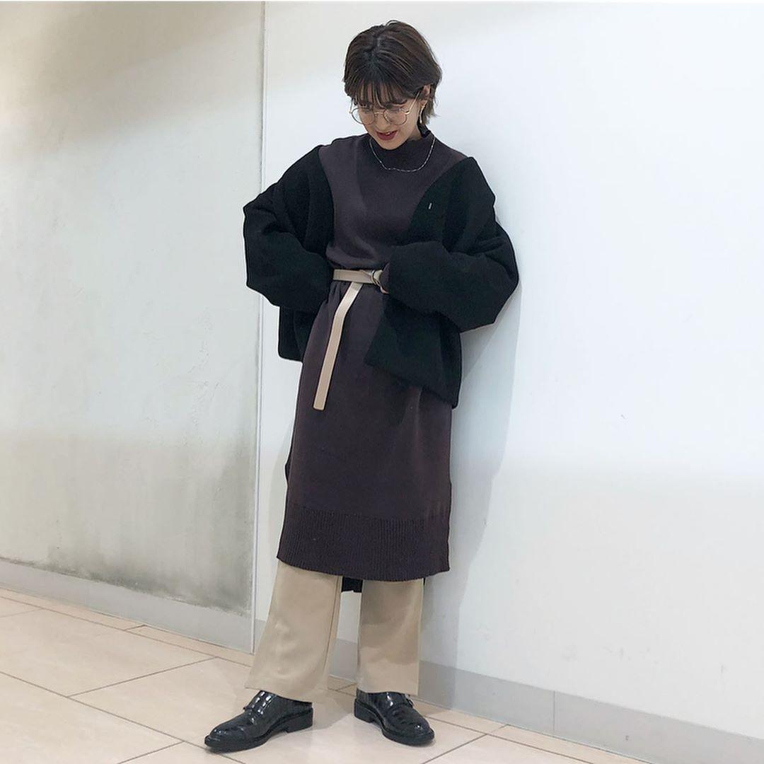 最高気温20度・最低気温15度 aikachaaanの服装