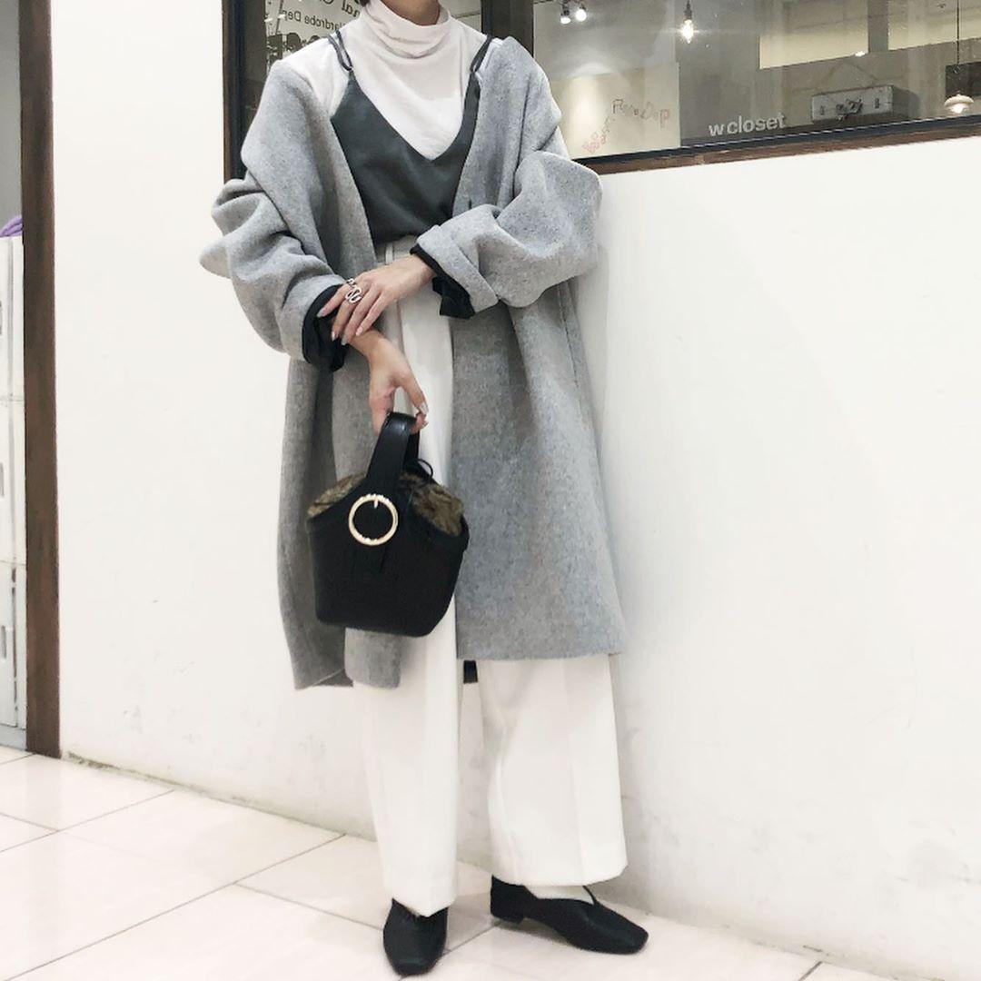 最高気温15度・最低気温10度 aikachaaanの服装