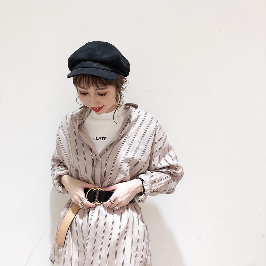 最高気温12度・最低気温3度 akaririri_1022の服装