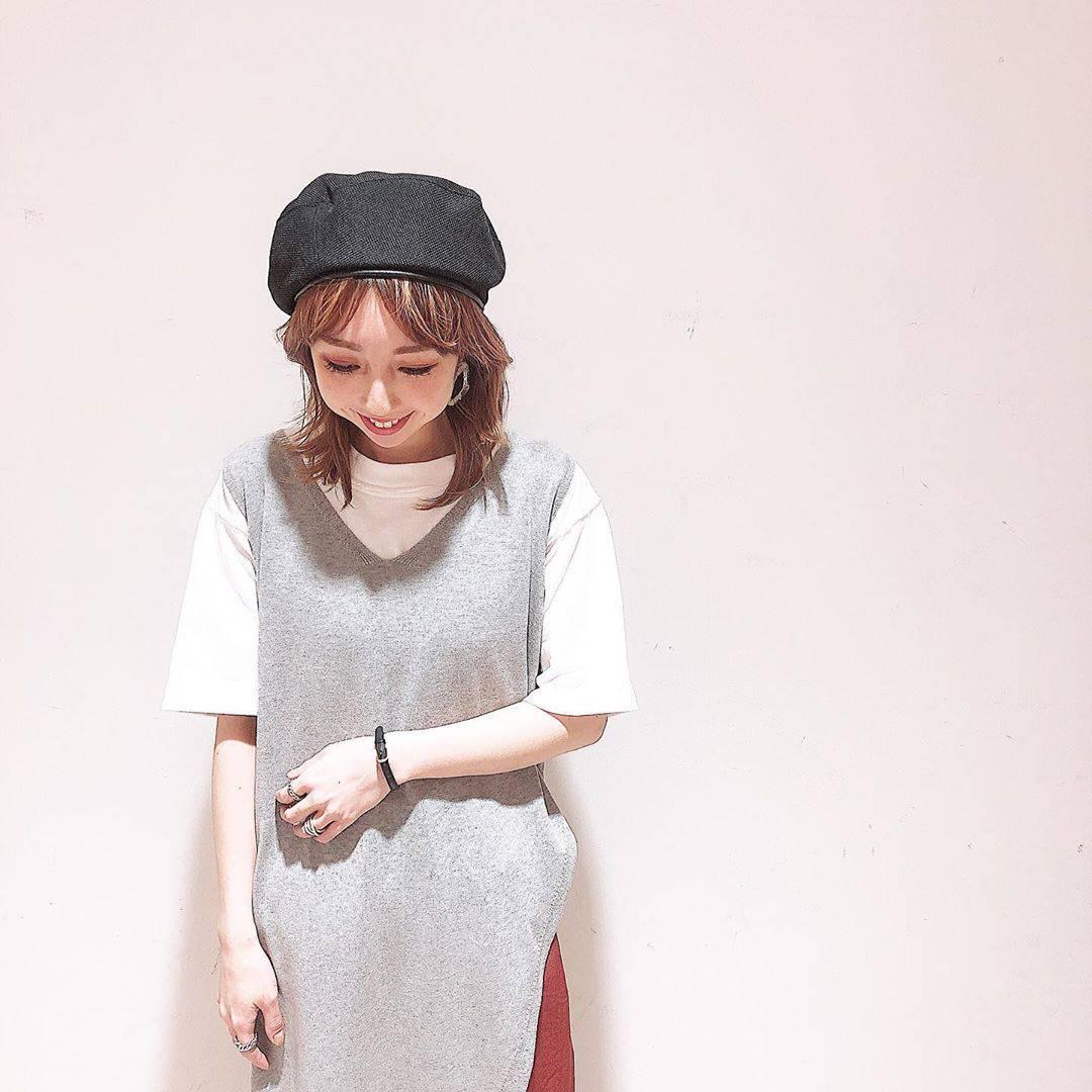 最高気温23度・最低気温14度 akaririri_1022の服装