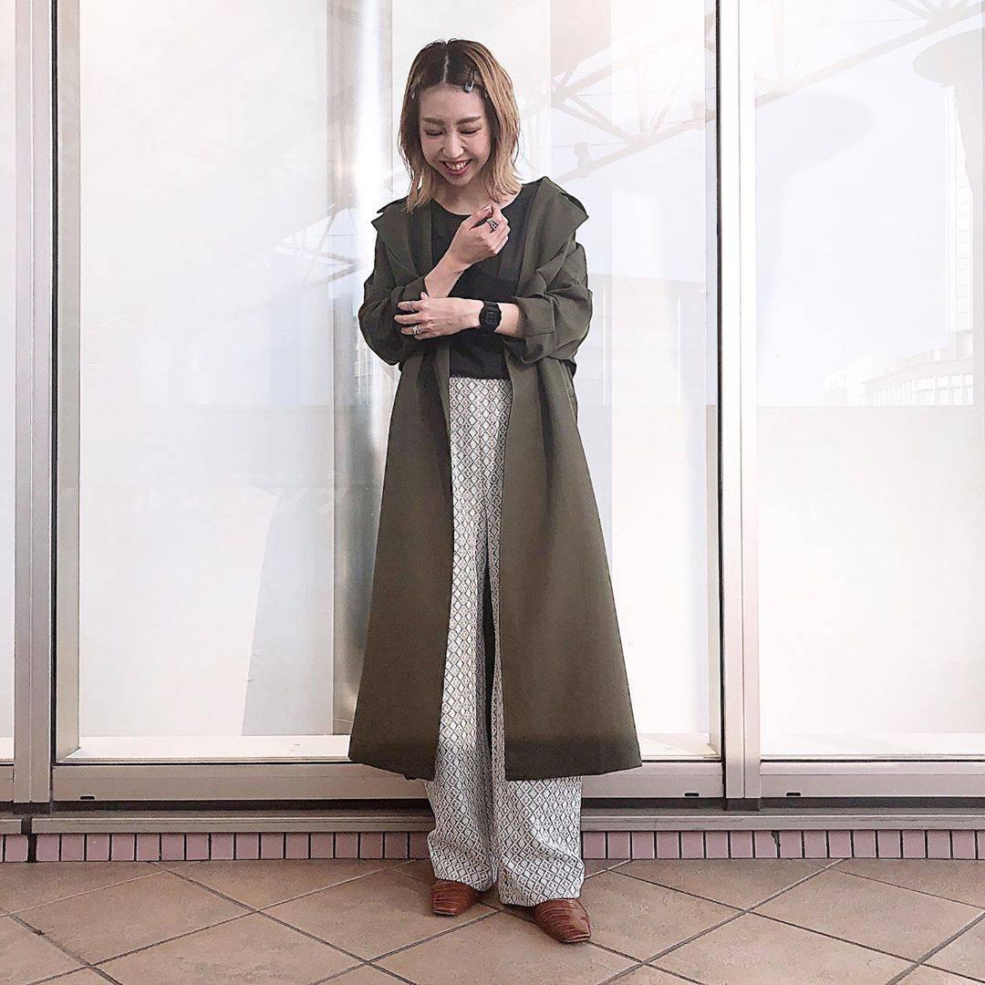 最高気温31度・最低気温22度 akaririri_1022の服装