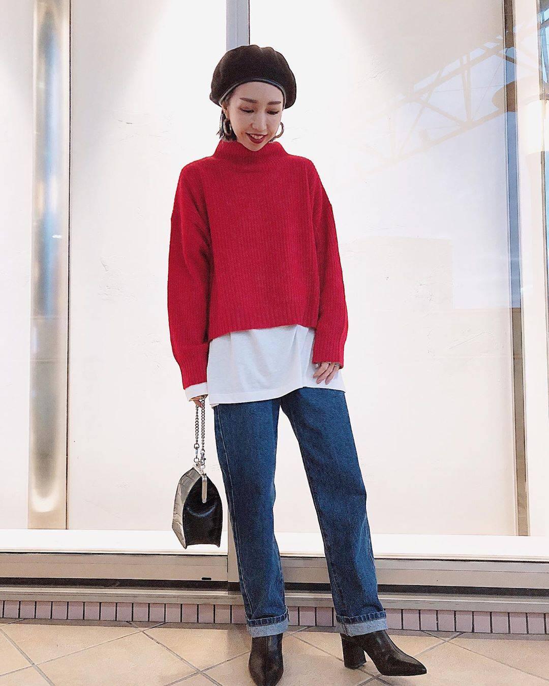 最高気温27度・最低気温17度 akaririri_1022の服装