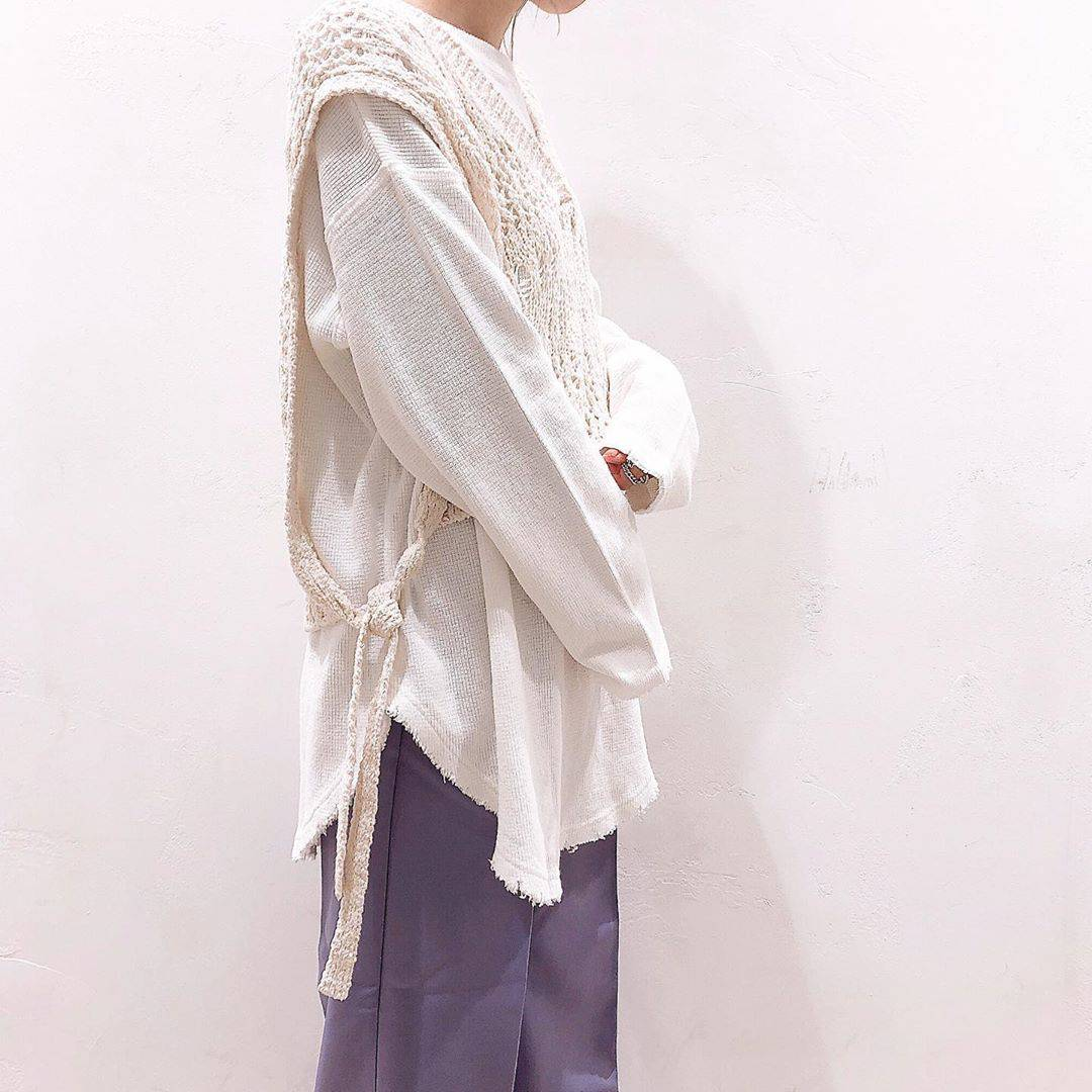 最高気温10度・最低気温0度 akaririri_1022の服装