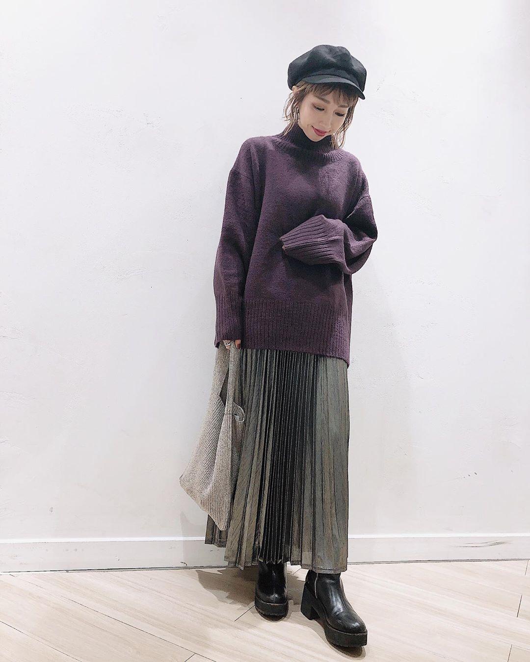 最高気温21度・最低気温18度 akaririri_1022の服装