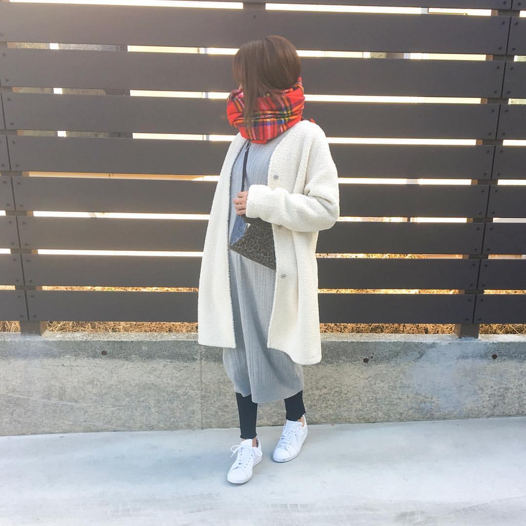 最高気温10度・最低気温0度 amhg0620の服装