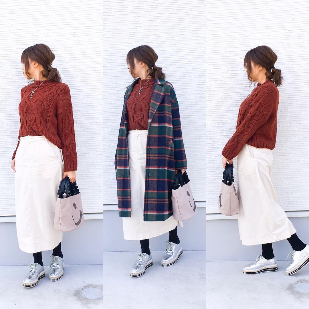 最高気温8度・最低気温3度 amhg0620の服装