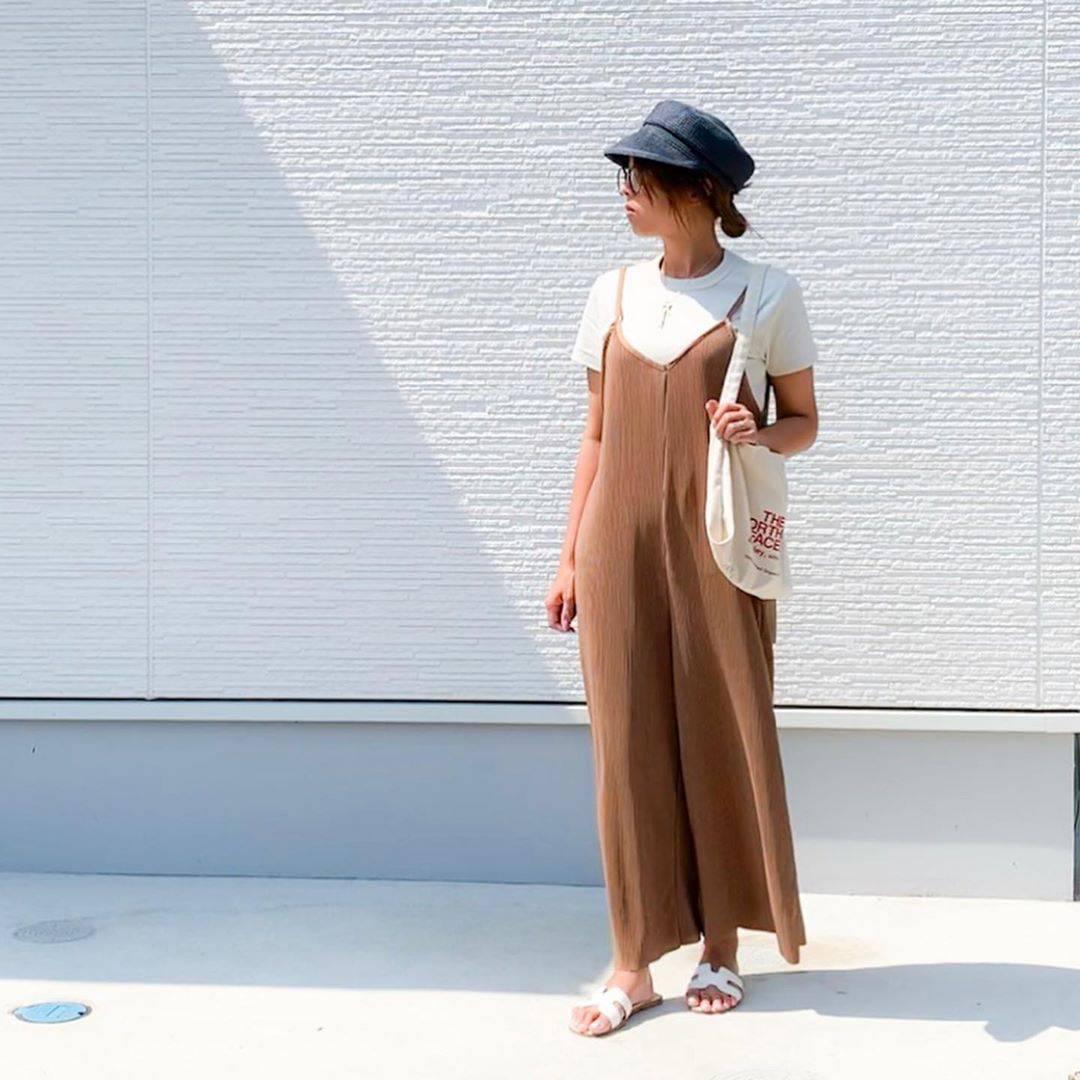 最高気温29度・最低気温19度 amhg0620の服装