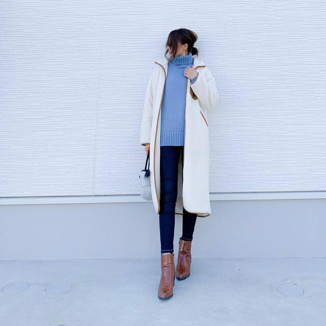 最高気温12度・最低気温2度 amhg0620の服装