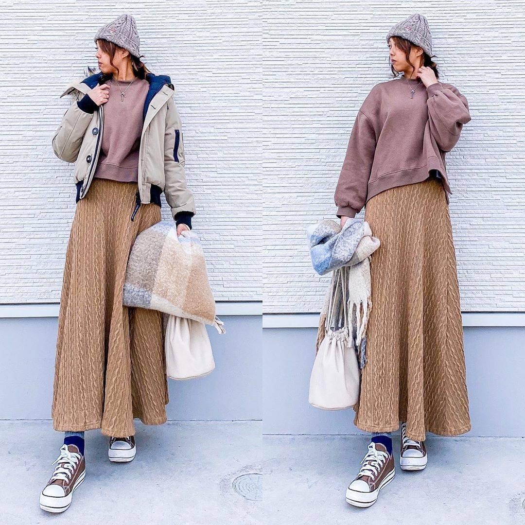最高気温11度・最低気温3度 amhg0620の服装