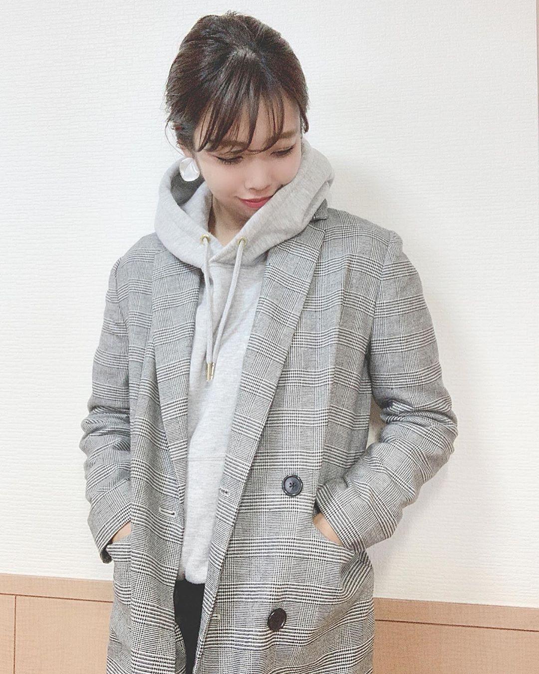 最高気温20度・最低気温10度 ayanishikadoの服装