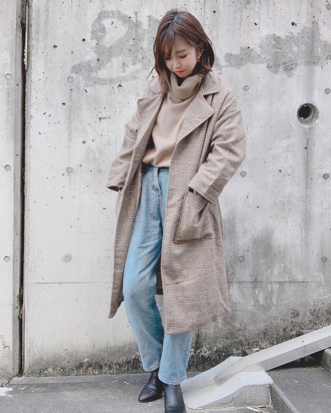 最高気温15度・最低気温5度 ayanishikadoの服装