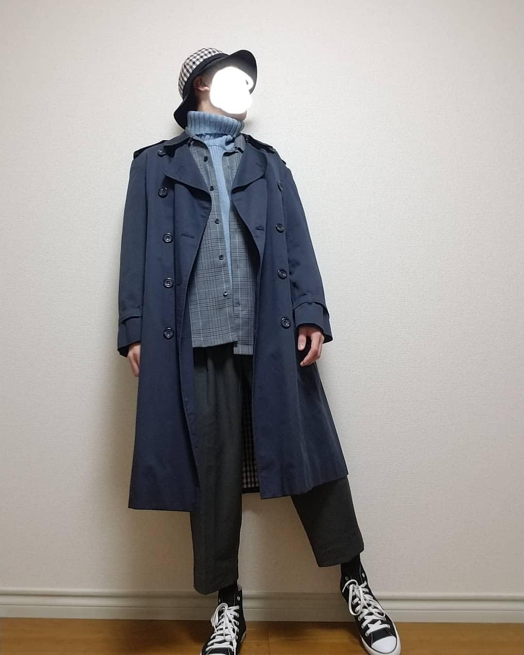 最高気温12度・最低気温5度 boushi567の服装