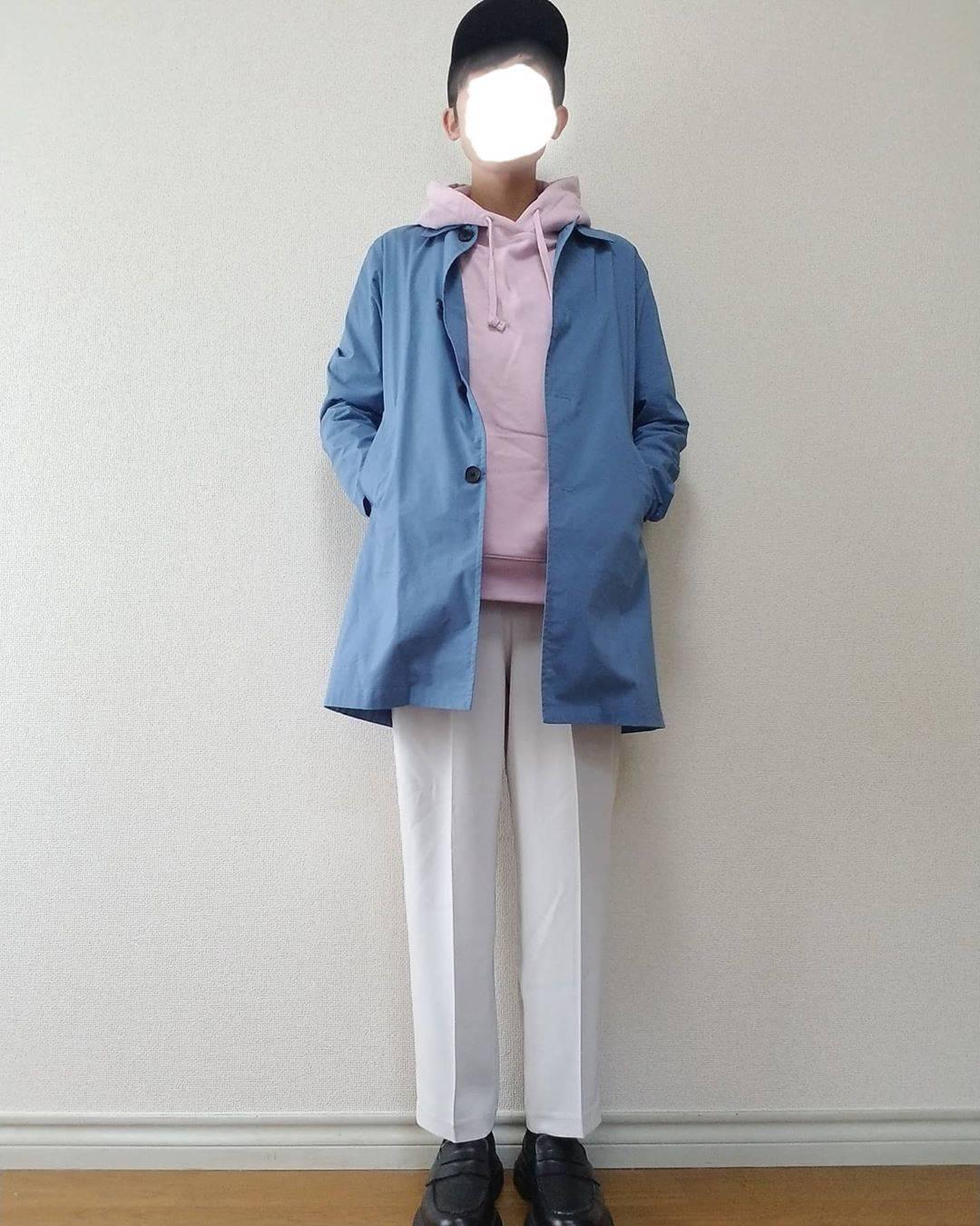 最高気温20度・最低気温8度 boushi567の服装