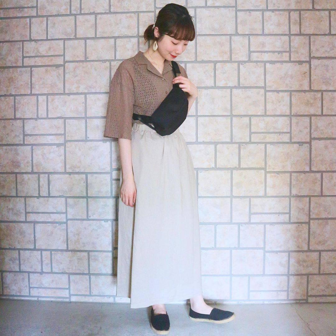 最高気温21度・最低気温17度 caaa____93の服装