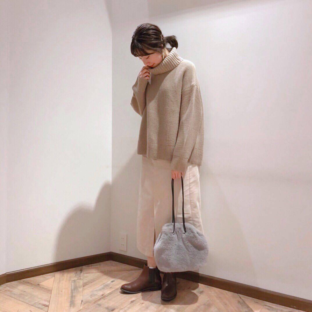 最高気温19度・最低気温11度 caaa____93の服装