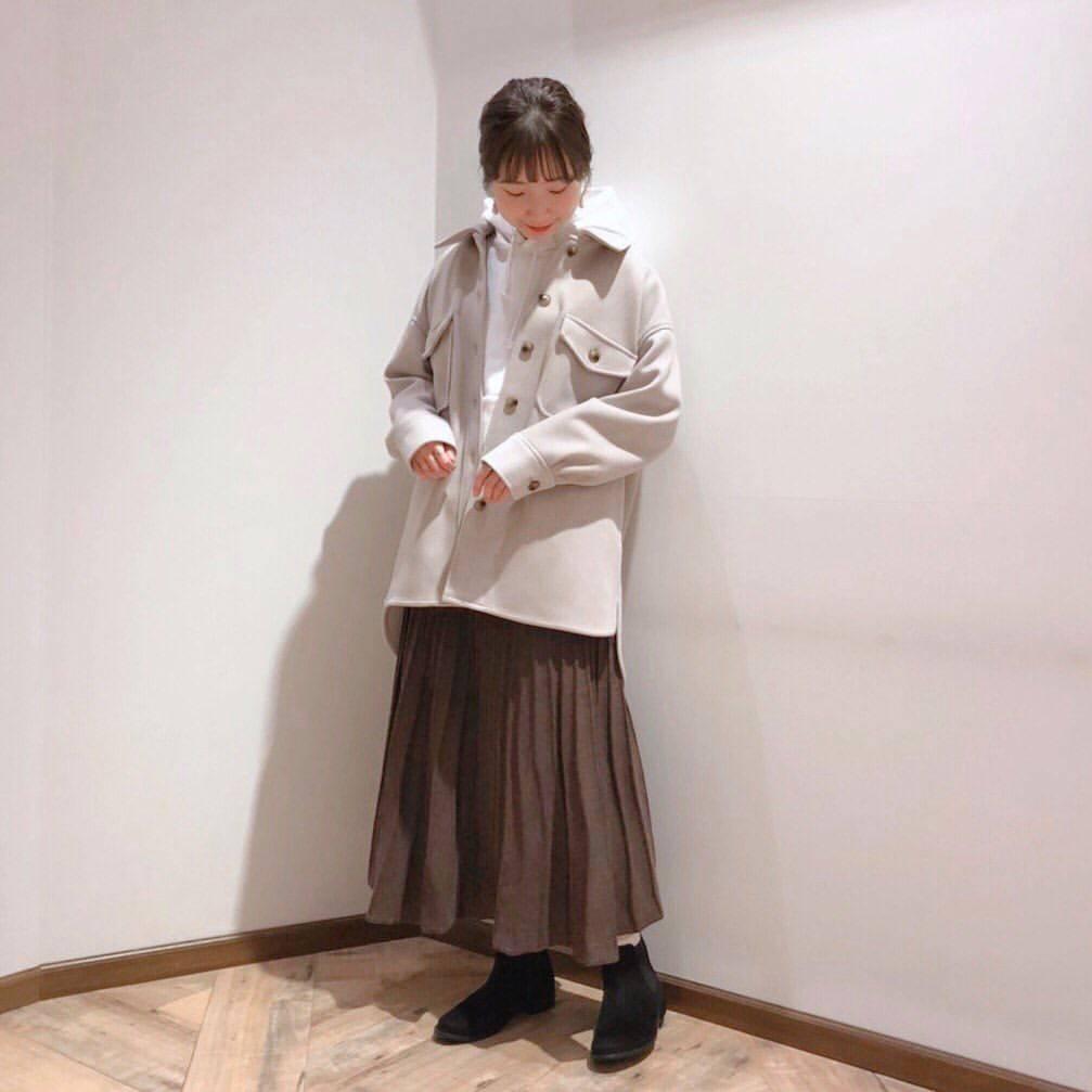 最高気温18度・最低気温7度 caaa____93の服装