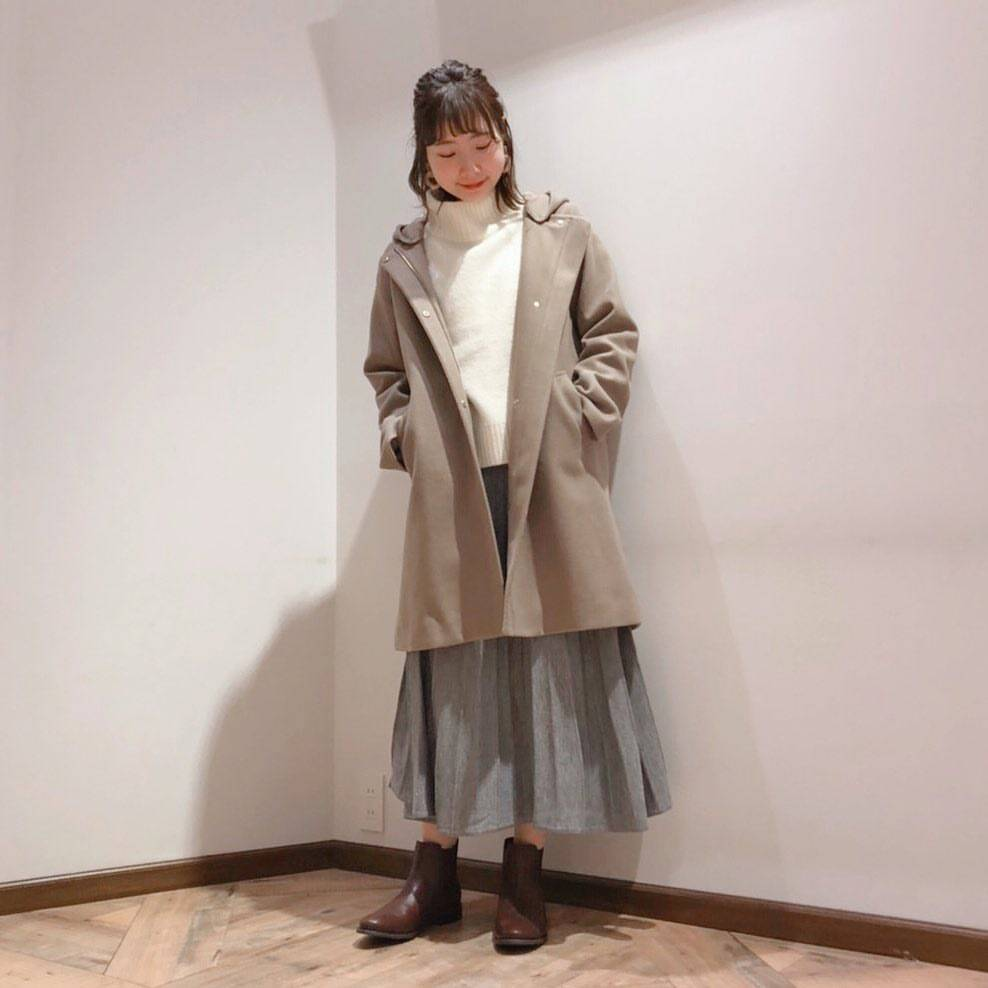 最高気温15度・最低気温8度 caaa____93の服装