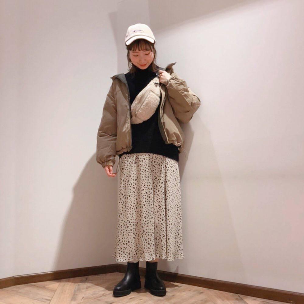 最高気温13度・最低気温9度 caaa____93の服装
