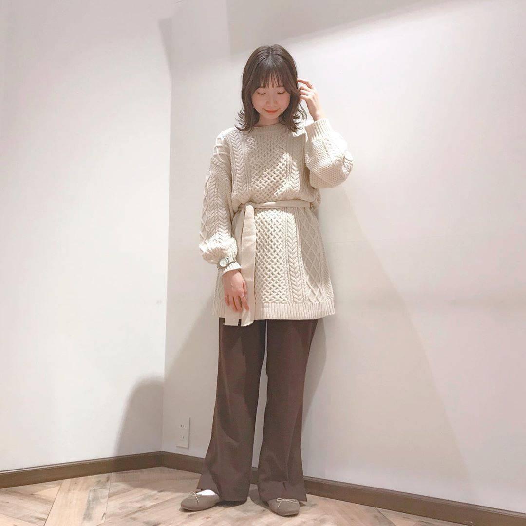 最高気温12度・最低気温7度 caaa____93の服装