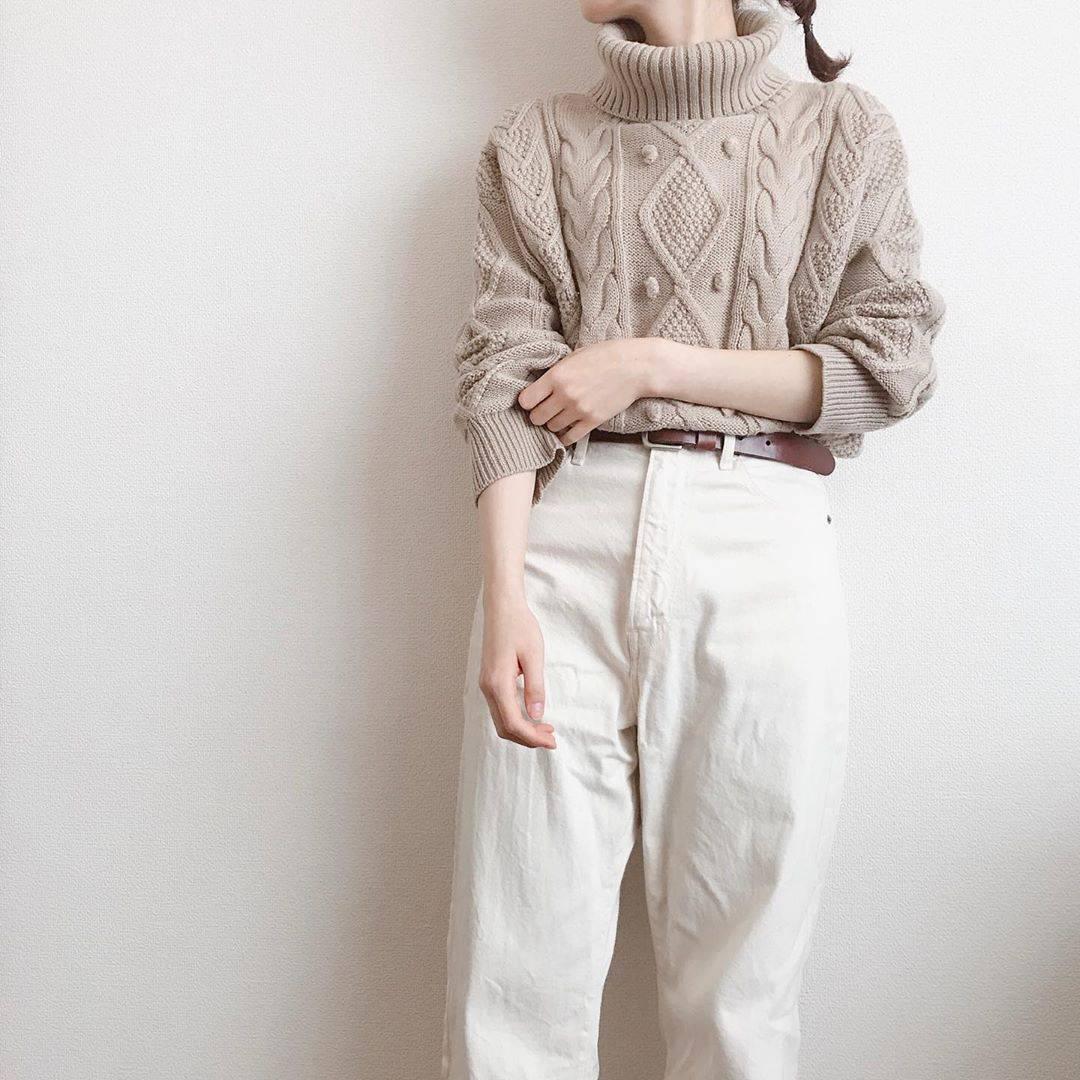 最高気温7度・最低気温4度 caaa____93の服装