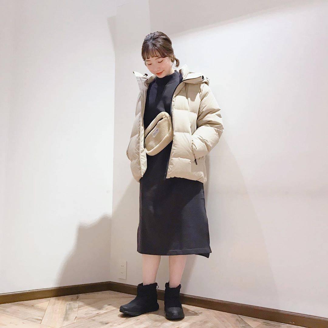 最高気温16度・最低気温2度 caaa____93の服装