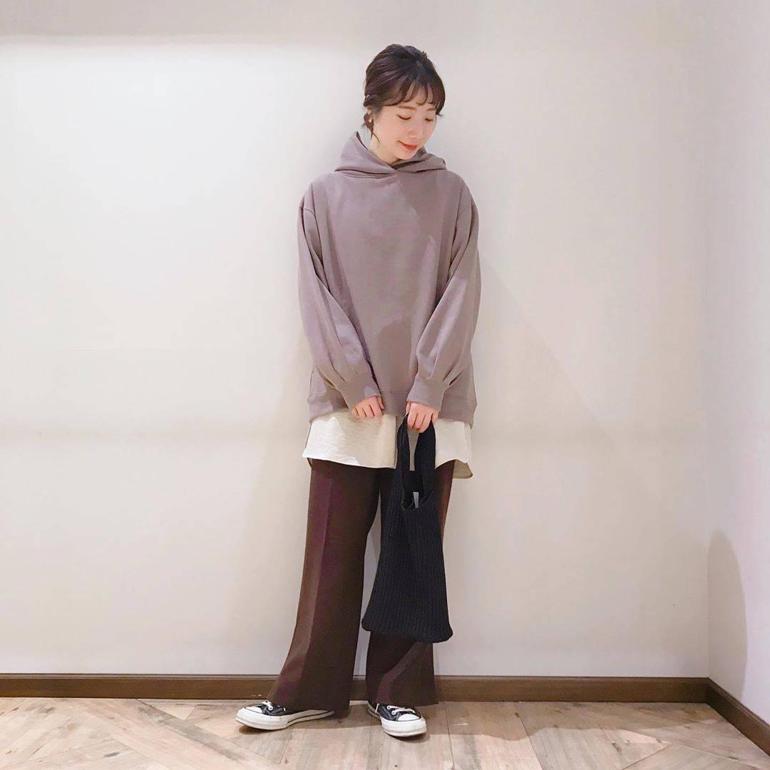 最高気温12度・最低気温2度 caaa____93の服装