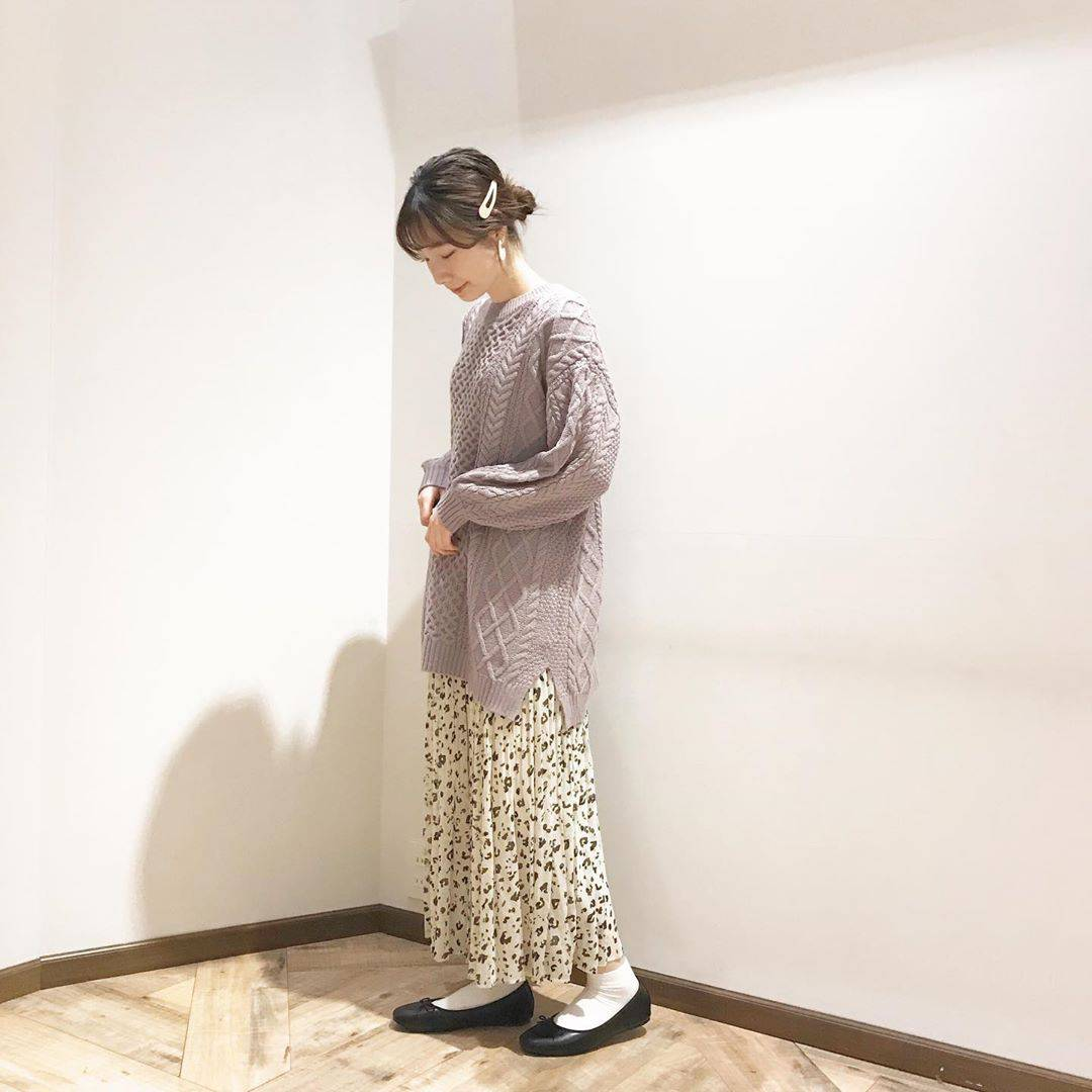 最高気温7度・最低気温2度 caaa____93の服装