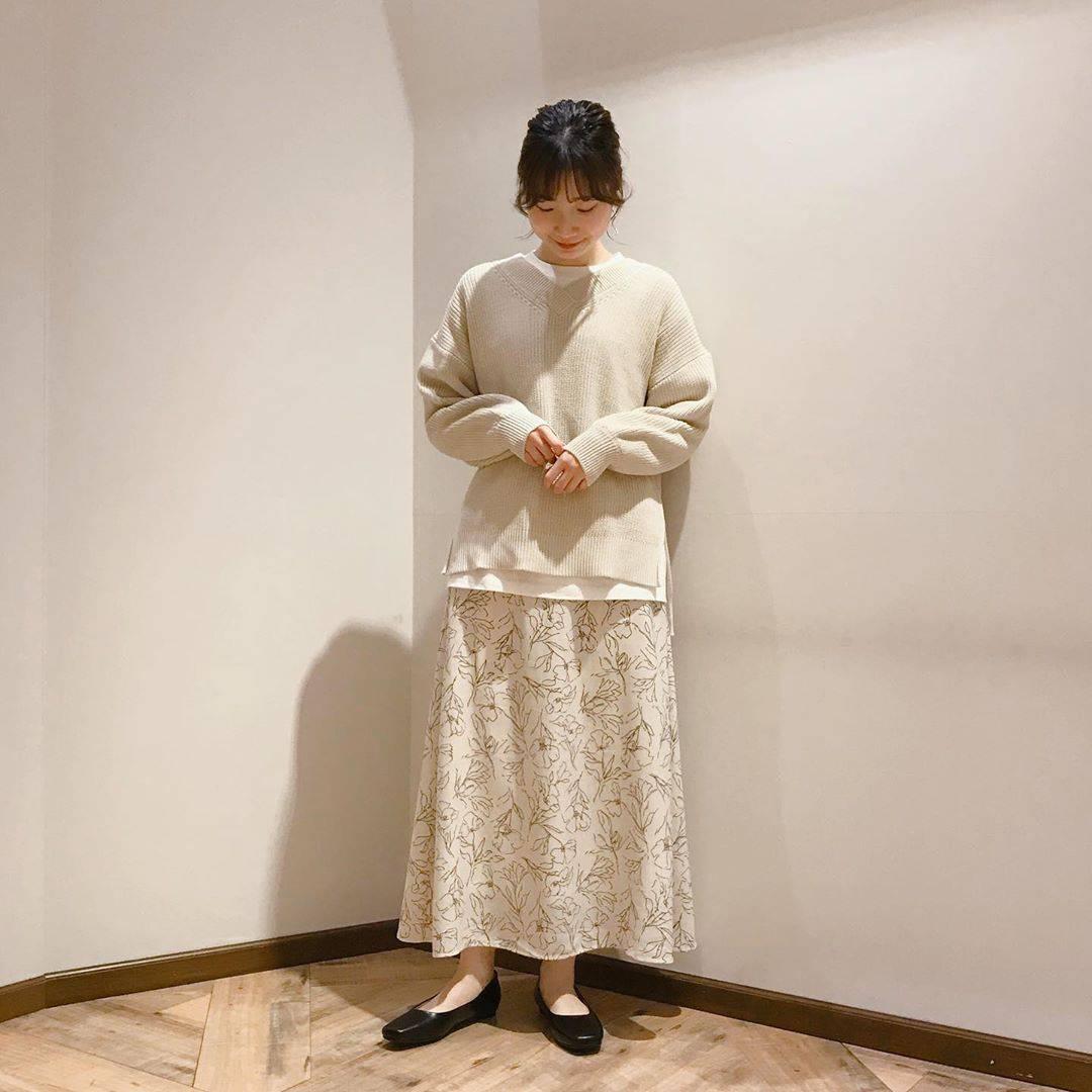 最高気温13度・最低気温6度 caaa____93の服装