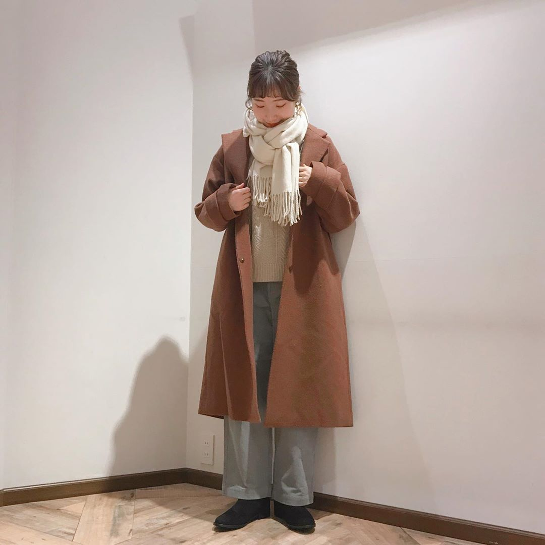 最高気温14度・最低気温4度 caaa____93の服装