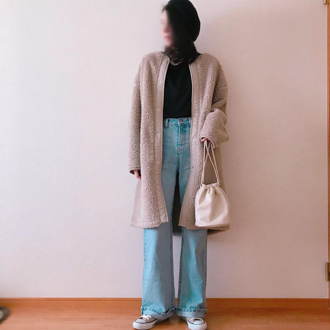 最高気温18度・最低気温10度 chiikotopの服装