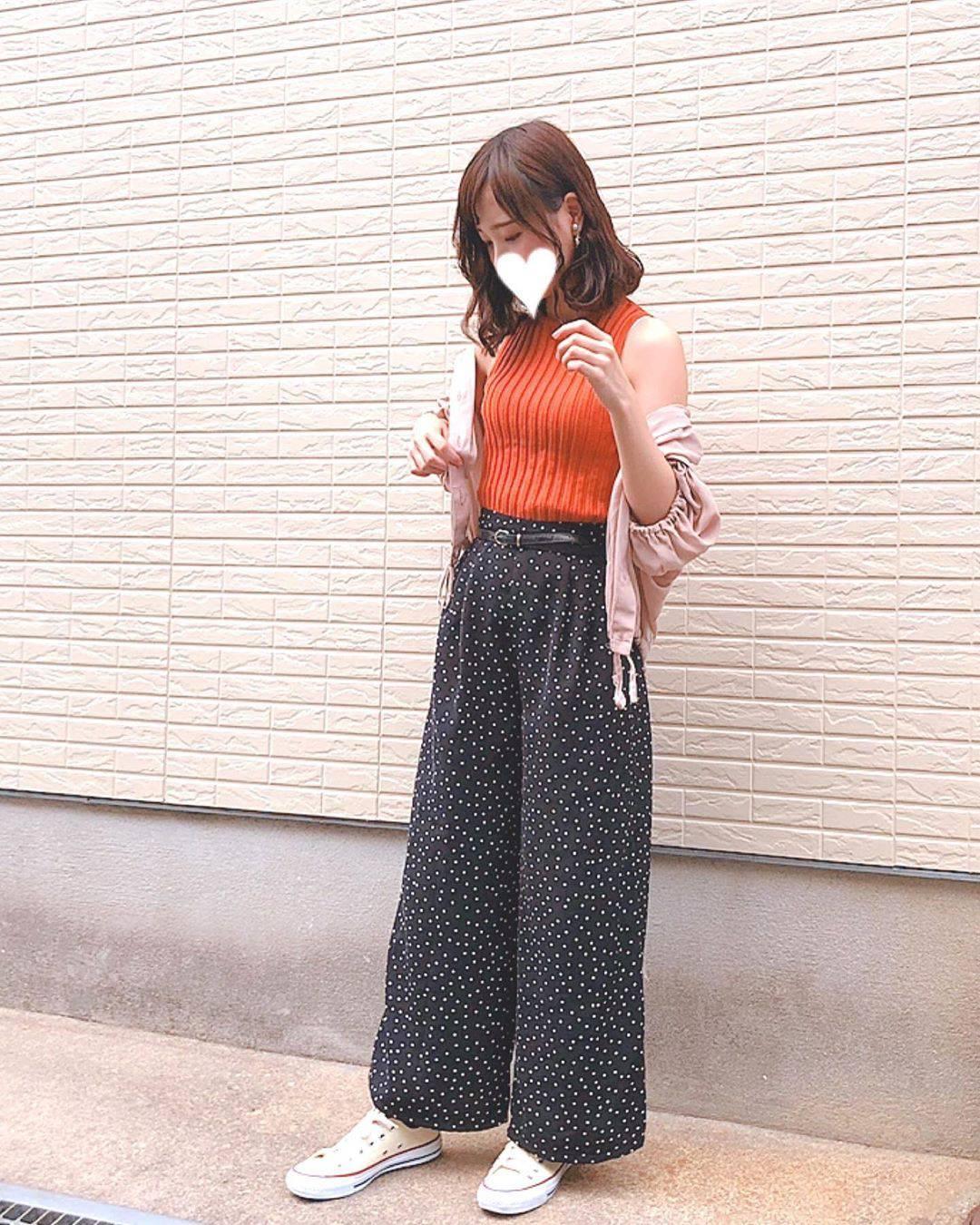 最高気温29度・最低気温21度 flower_22227の服装