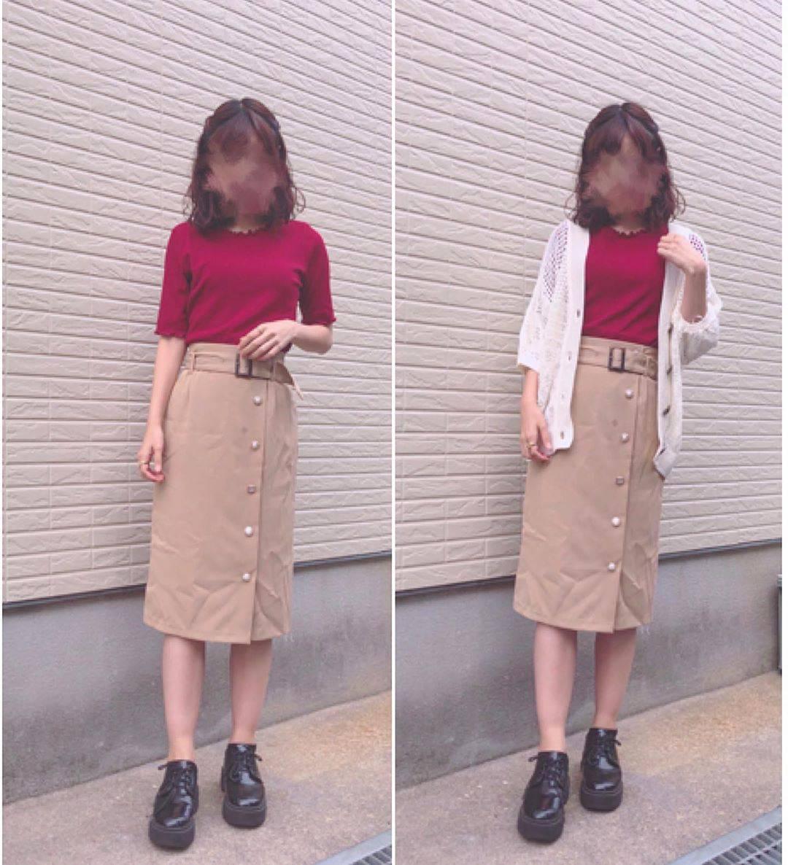 最高気温25度・最低気温20度 flower_22227の服装
