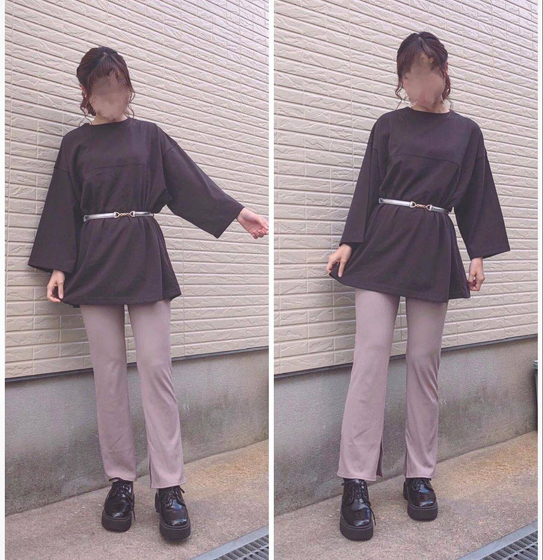 最高気温23度・最低気温16度 flower_22227の服装